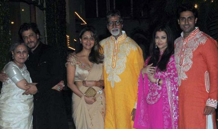 Shah Rukh Khan The Bachchans