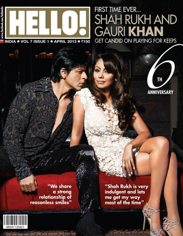 Shahid Kapoor And Mira Rajput On HELLO Cover
