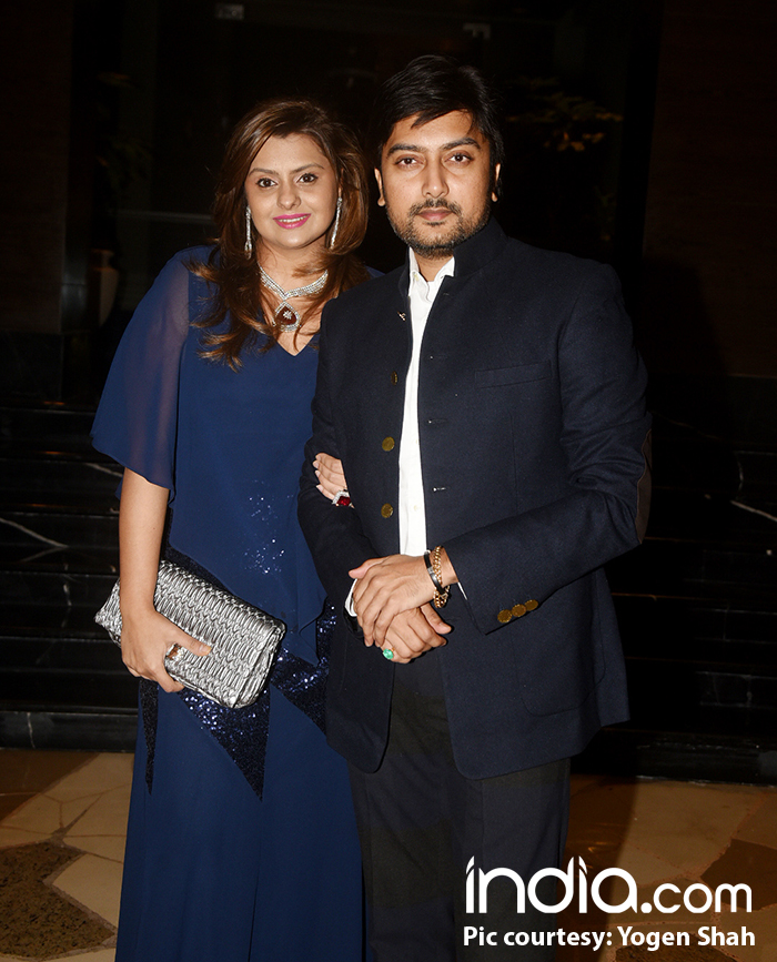 Riteish Deshmukh's brother and sister-in-law