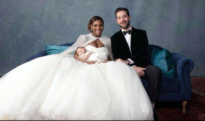 Serena Williams Gets Married See Her Dazzle In Beautiful