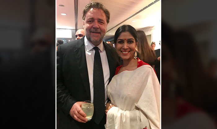 Sakshi Tanwar and Russell Crowe