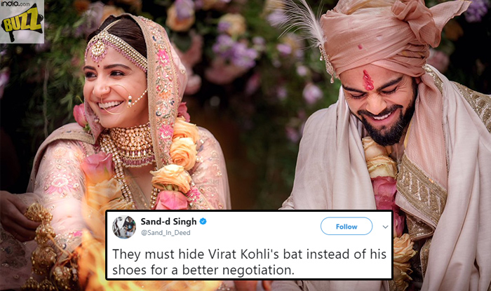 Virat Kohli And Anushka Sharma Are Married And Twitter Is Flooded With Wishes And Memes India Com