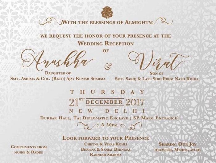 Anushka Sharma Marries Virat Kohli Couple To Throw