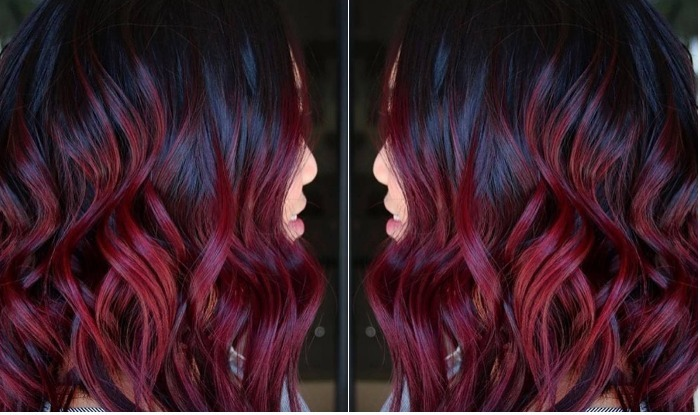 Mulled Wine Is The Perfect Hair Color For Christmas 2017