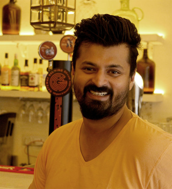 Onkar Samarth, the chef