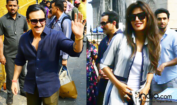 Saif Ali Khan Comes To The Rescue Of Baazaar Co-star Chitrangada Singh As She Gets Mobbed By Shutterbugs And Fans