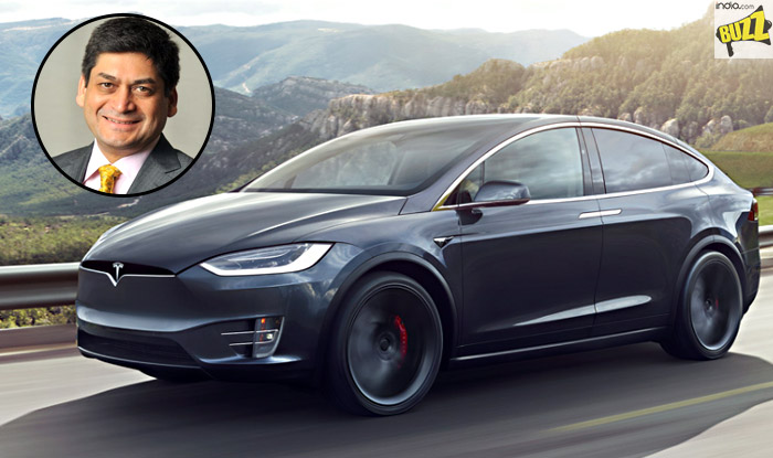 Watch Video of India's First Tesla; Car Owned by Essar ...