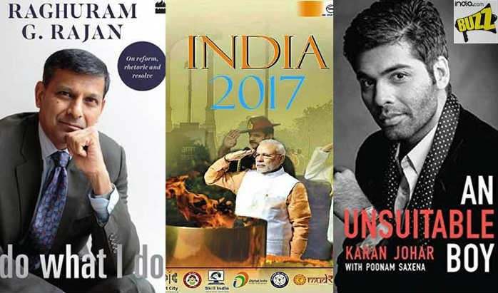 Topselling Books Of 2017 Karan Johar Raghuram Rajan S Books