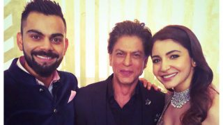 This Video Of Shah Rukh Khan Revisiting Chaiyya Chaiyya With Anushka Sharma And Virat Kohli At Their Reception Is Pure Gold