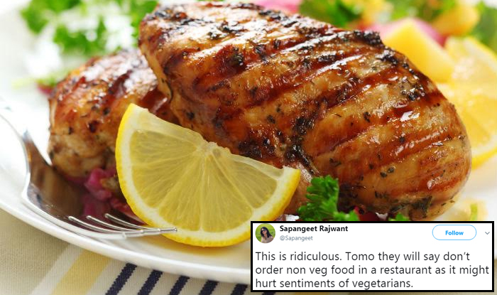 Display Of Non Vegetarian Food Proposed To Be Banned In Delhi Twitterati Furious India Com