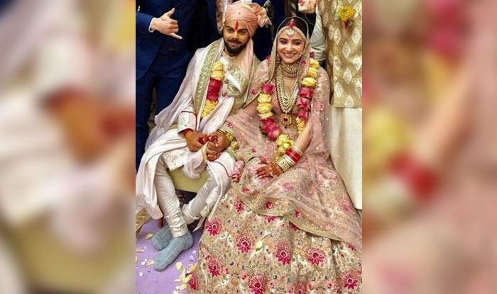 Virat Kohli Anushka Sharma S Wedding Picture Fails To