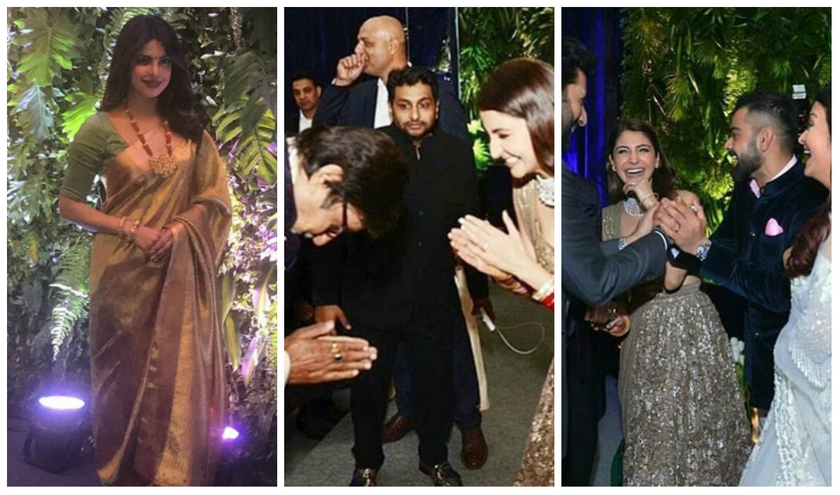 Virat Kohli Anushka Sharma Mumbai Wedding Reception Pics Inspires