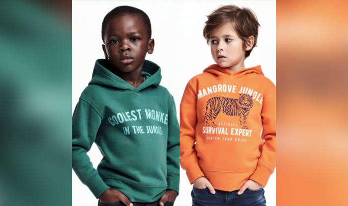 h m receives backlash and flak on twitter for selling a hoodie with racist caption. Black Bedroom Furniture Sets. Home Design Ideas
