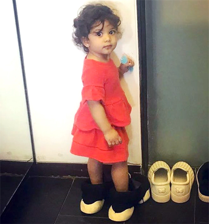 Misha Kapoor steps into daddy Shahid Kapoor's shoes - picture