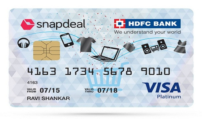 Snapdeal hdfc bank credit card crosses 15 lakh users business snapdeal hdfc bank credit card crosses 15 lakh users reheart Image collections