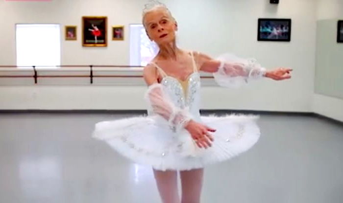 77 Year Old Ballerina Madame Suzelle Poole Proves Age Is