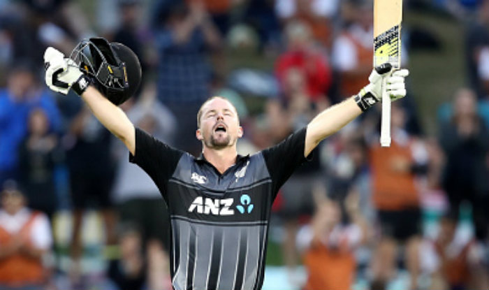 Colin Munro Becomes First Batsman to Hit Three T20I Centuries, Achieves Feat During New Zealand vs Windies 3rd T20I | India.com