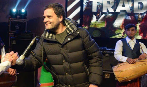 BJP Mocks Rahul Gandhi For Wearing Rs 70000 Jacket At Meghalaya Concert