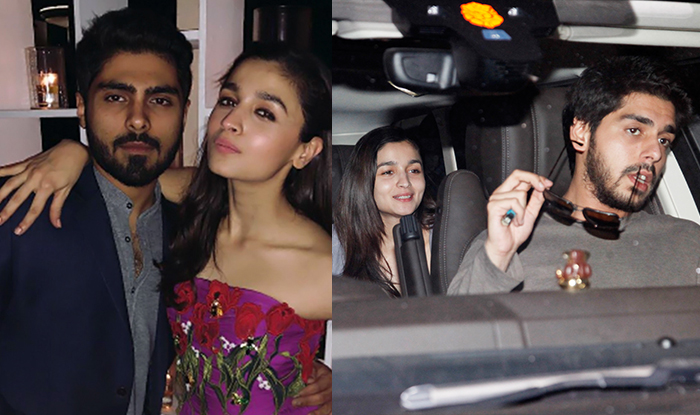 After Being Spotted With Ex Ali Dadarkar, Alia Bhatt Hangs Out With A Mystery Man (Pics) | India.com