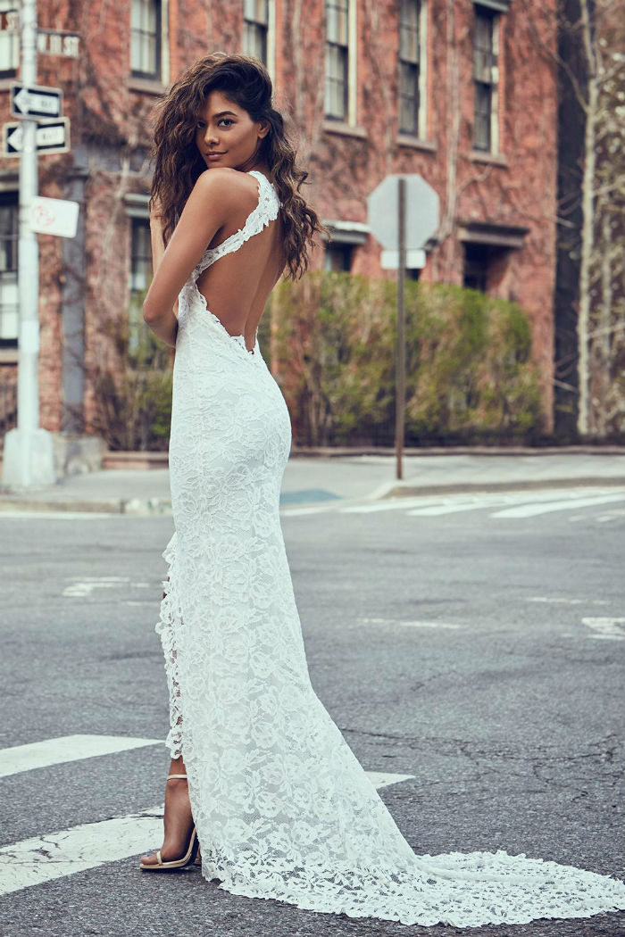 Alexandra gown with ivory lining
