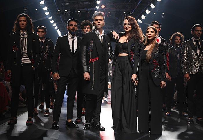 Karan Johar-Sonakshi Sinha showstopper at