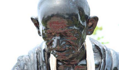 महात्मा गांधी.
