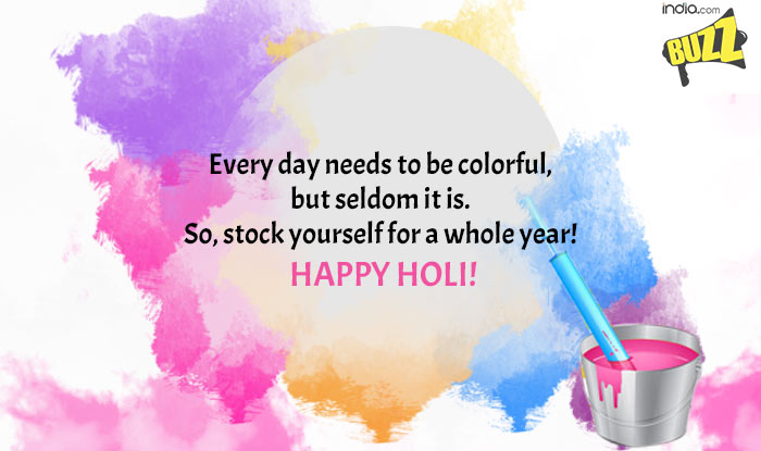 Happy Holi 2018 All Latest Quotes Wishes Sms Facebook Status
