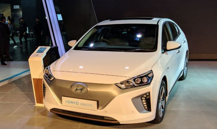 Hyundai Ioniq at Auto Expo 2018