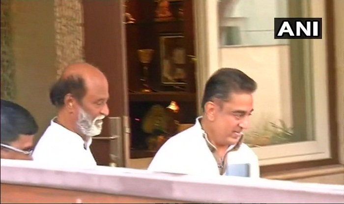 Kamal Hassan Meets Rajinikanth in Chennai Ahead of Massive Political Tour