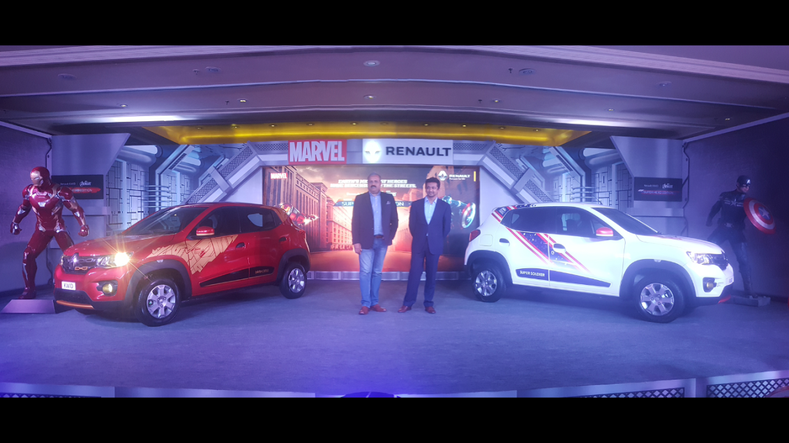 Renault KWID Superhero Edition Launched in India, Priced at INR 4.32 Lakh; To be Showcased at ...