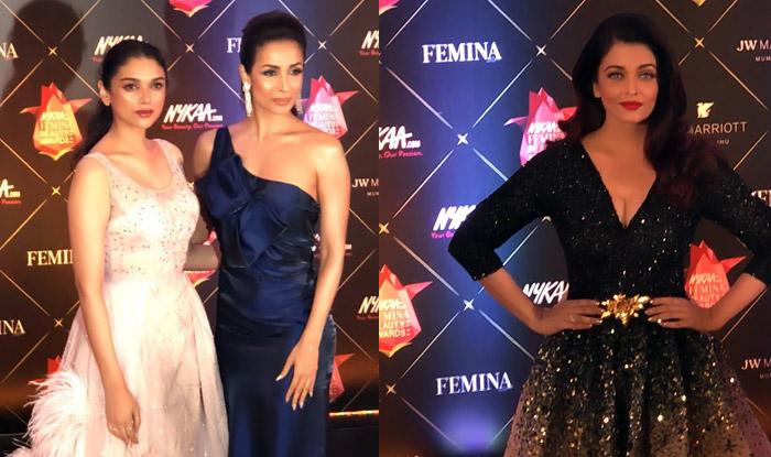Nykaa Femina Beauty Awards 2018: Aishwarya Rai Bachchan, Malaika Arora, Aditi Rao Hydari And More Set The Red Carpet On Fire