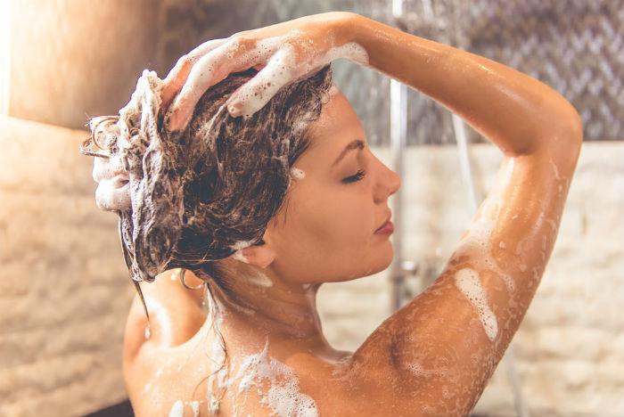 Washing hair too often