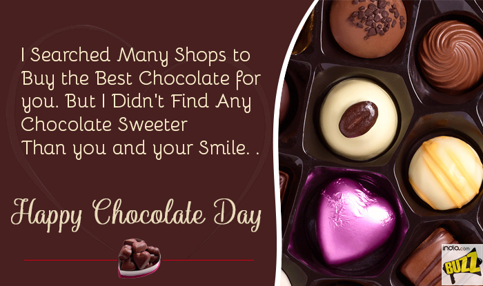 Happy chocolate day 2018 best wishes sms whatsapp forwards and chocolate day 1 m4hsunfo