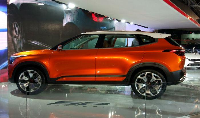Kia Sp Concept Hyundai Creta Rival Unveiled At Auto Expo 2018