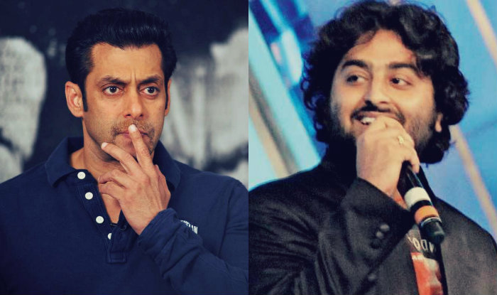 Image result for salman with arijit singh india.com