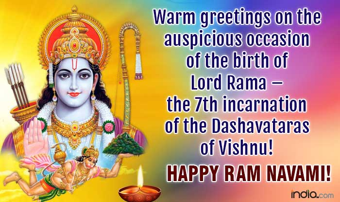 Rama Navami 2018 Wishes Best Quotes Hd Wallpapers Sms Whatsapp