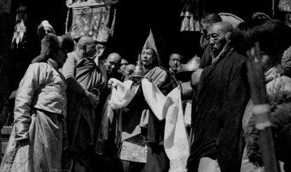 परम पावन दलाई लामा 1950 में डोमो, तिब्बत में. (फोटो साभारः दलाईलामा.कॉम)