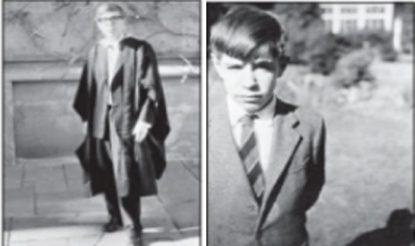 1962 में ऑक्सफोर्ड के स्नातक और सेंट एल्बन के घर में 12 वर्ष के हॉकिंग. (फोटो साभारःमहेश शर्मा लिखित पुस्तक 'स्टीफन हॉकिंग')