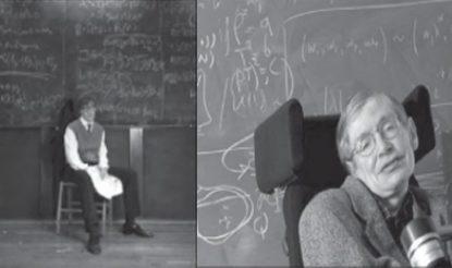 यूनिवर्सिटी के शिक्षक के रूप में स्टीफन हॉकिंग.