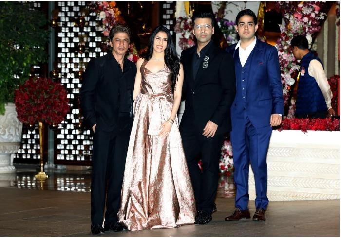 SRK Karan Ambani