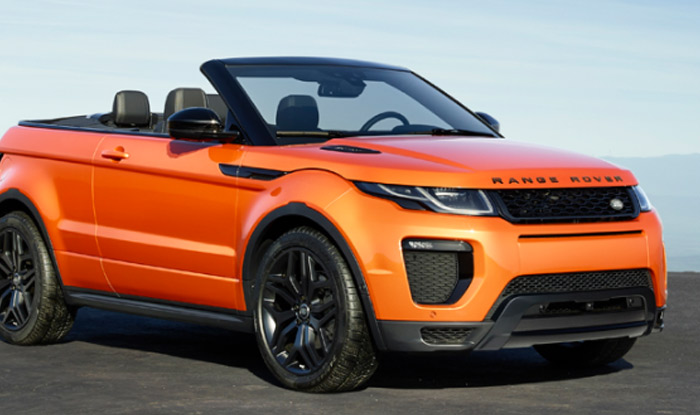 range rover evoque photos the convertible suv launched in india here 39 s the price. Black Bedroom Furniture Sets. Home Design Ideas