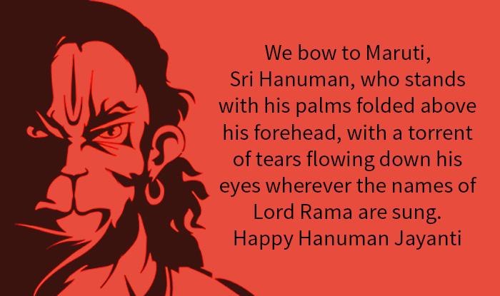 Hanuman Jayanti 2018 Wishes Quotes Images Messages Lord Hanuman