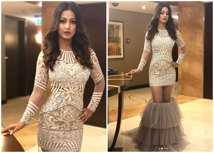 Hina Khan Hits Back At Trolls After Being Criticised For Broom Like Gown Gets Trolled Again For Comment On Designers India Com