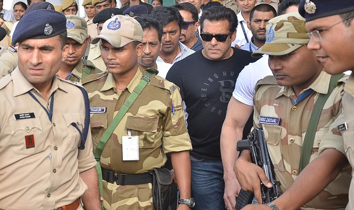Salman Khan has been found guilty in the blackbuck poaching case.