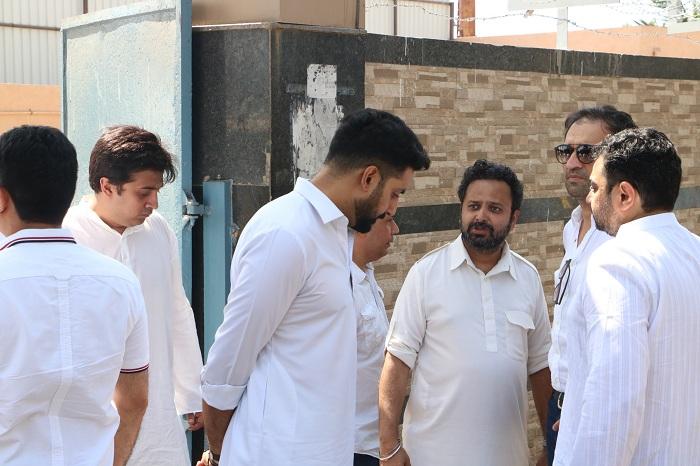 Abhishek Bachchan and Nikkhil Advani
