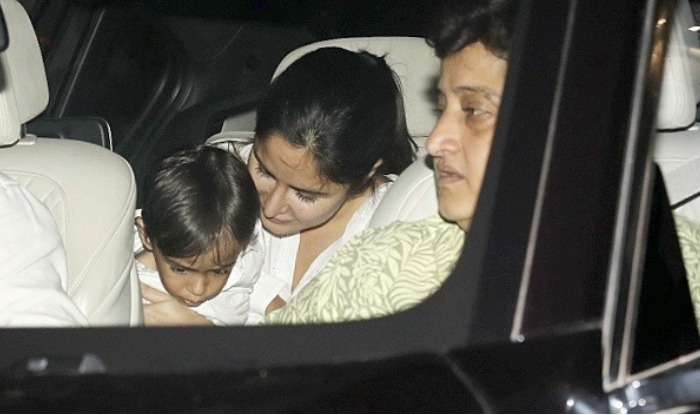 Katrina seems to be Ahil's favourite