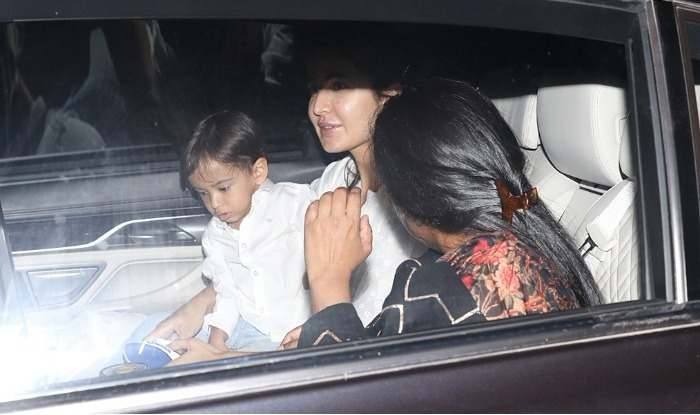 Katrina, Arpita and Ahil