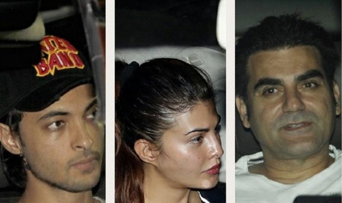 Salman Khan's Black Buck Poaching Case Verdict : Jacqueline Fernandez, Arbaaz Khan, Aayush Sharma Visit The Actor's Residence – View Pics