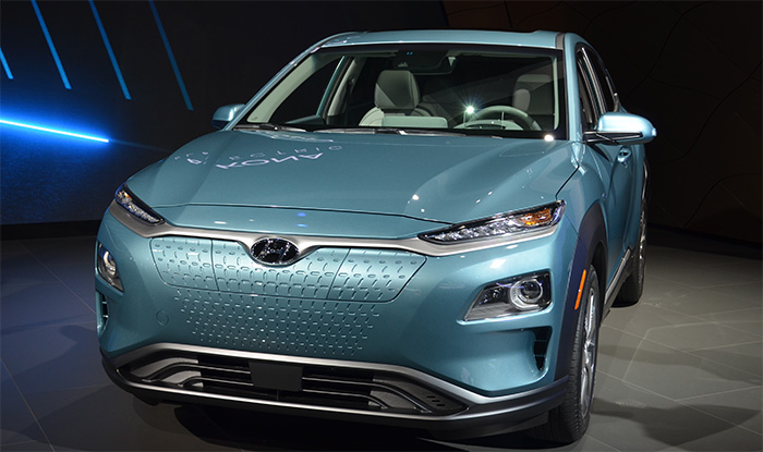 The all-new, 100 percent electric Kona EV, produced by Hyundai, made its world debut at this year's New York International Auto Show. Starting at just $19,500, this sleek electric vehicle is not just affordable - it is paving the way for electric vehicles in the automotive industry