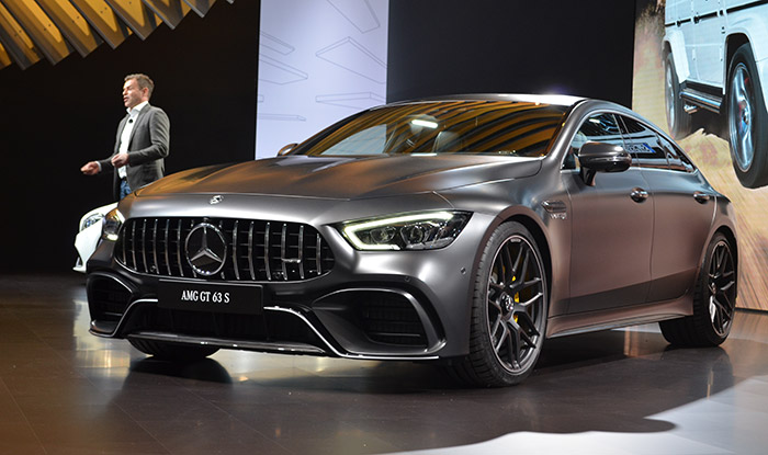 Easily one of the most versatile cars to make its debut at the New York Auto Show, the Mercedes-AMG GT 63 S is a must-see for all car enthusiasts.